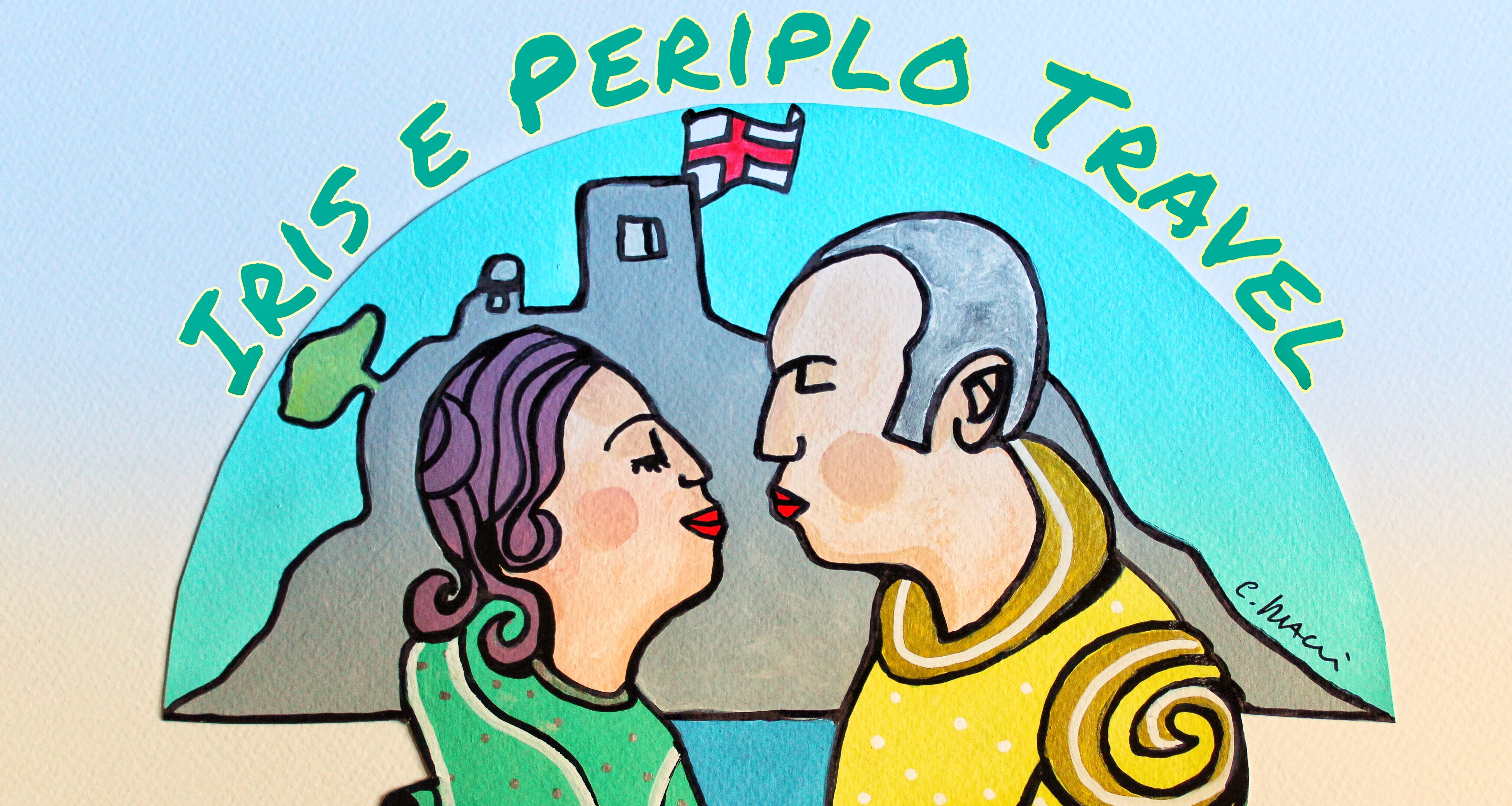 logo iris e periplo travel